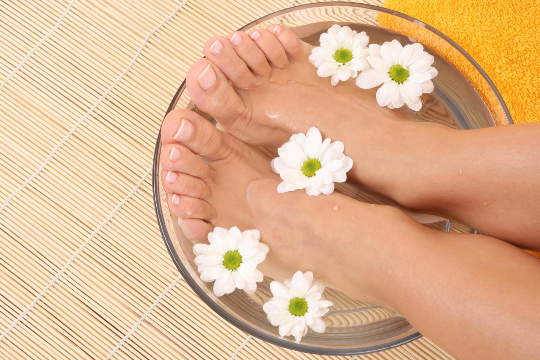 Com tenir cura dels peus?
